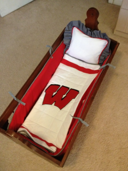 cradle bedding for Jenny